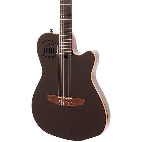 Senar Gitar Guitar String Accoustic Electric godin acs sa string cedar top acoustic electric guitar music123