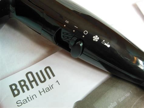 Braun Satin 1 Hair Dryer Review by Braun Satin Hair 1 Style And Go Hair Dryer Review