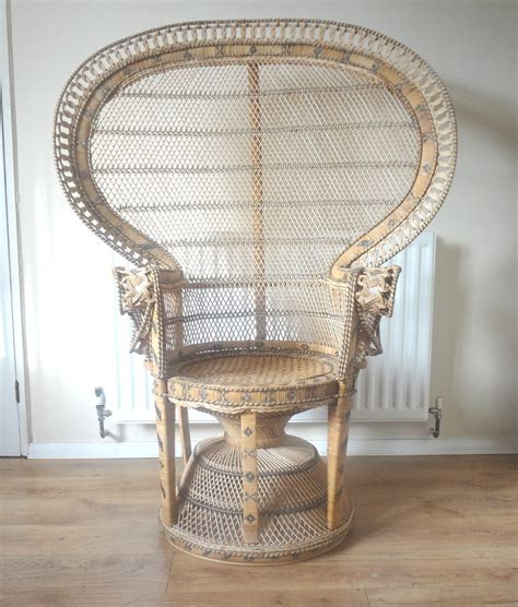 peacock armchair antiques atlas retro peacock chair
