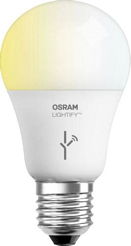 Lu Led Osram 9 Watt sylvania osram lightify smart connected 9 5 watt a19 tunable white 2700k to 6500k led home