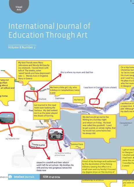 the international journal of art design education international journal of education through art insea
