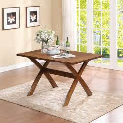 trestle dining table pine walmart