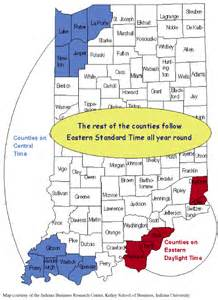 us time zone map indiana indiana time zone map map2