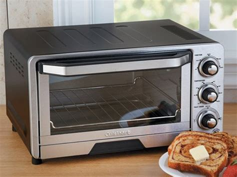 Toaster Oven With Auto Slide Out Rack Cuisinart Custom Classic Toaster Oven