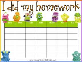 homework reward chart abc s 123 s learning