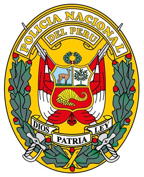 imagenes bandera de los pnp archivo escudo de la polic 237 a nacional del per 250 png