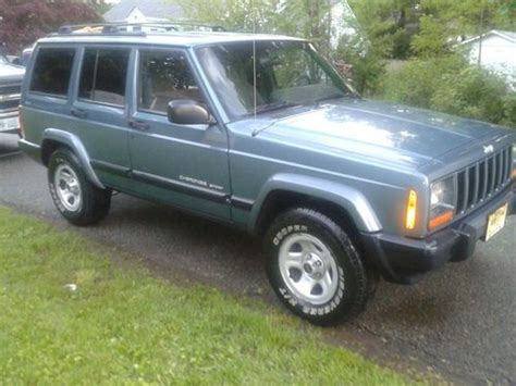 how to fix cars 1999 jeep cherokee auto manual sell used 1999 jeep cherokee sport utility 4 door 4 0l in denville new jersey united states