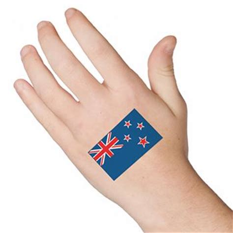 henna temporary tattoo nz new zealand flag tattooforaweek temporary tattoos