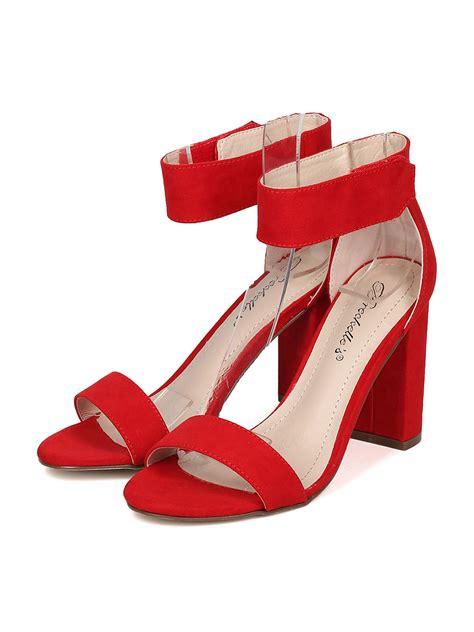 breckelles shoes shoes breckelles gh01 faux suede open toe ankle