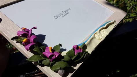 cornice fimo cornice fimo fiori per la casa e per te decorare casa
