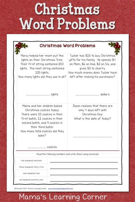 216 best images about christmas worksheets printables