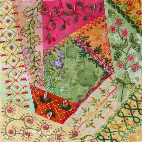 Patchwork Embroidery - 1000 images about quilts contemporary on