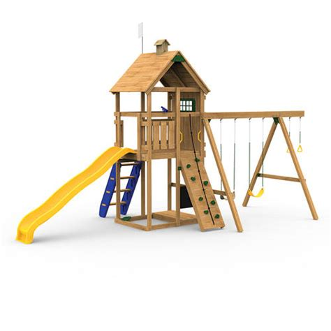 menards swing set playstar legacy bronze factory built playset at menards 174