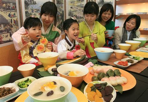 korean new year food seollal seasoned with traditional foods and folk korea net the official website of the