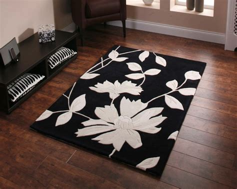 black and white floral rug black and white floral rug tedx decors the beautiful of black floral rug for decorate the house