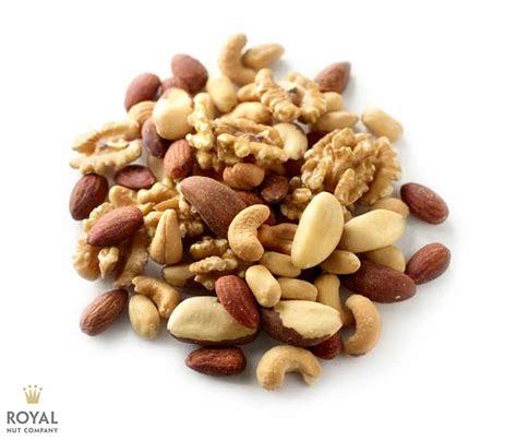 Roasted Mixed Nuts 500 Gr royal nut company nuts mixed nuts roasted unsalted mixed nuts