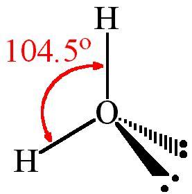 dot diagram for h2o h2o lewis and 3 d structure dr sundin uw platteville