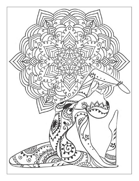 424154 yoga easy yoga zum yoga and meditation coloring book for adults with yoga