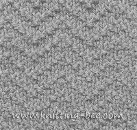 knit chevron pattern chevron seed stitch knitting pattern knitting bee