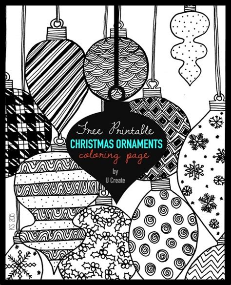 google printable christmas adult ornaments 21 printable coloring pages everythingetsy