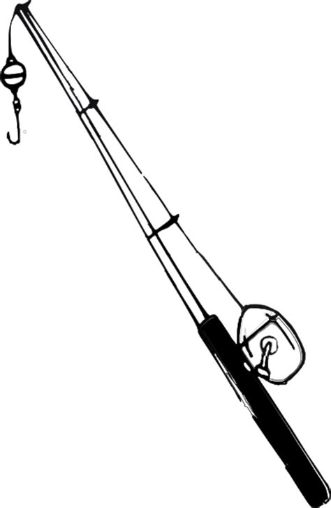 coloring page of fishing pole cartoon fishing pole cliparts co