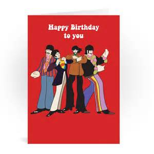 beatles birthday card gangcraft net