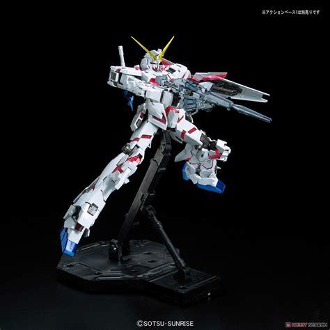 Mg Unicorn Gundam Titanium Finish Green Frame Edition unicorn gundam green frame edition titanium finish mg gundam model kits images list