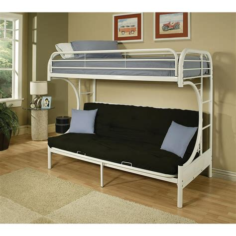 White Wood Bunk Beds by Dorel Brady White Wood Bunk Bed Fa6940w