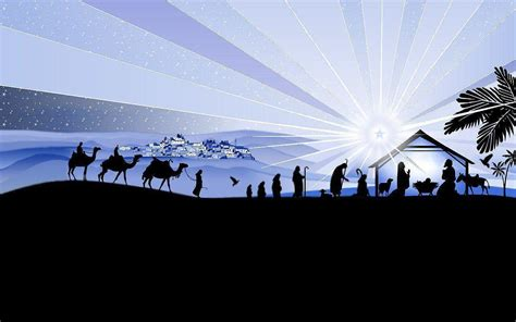 free christmas wallpapers of jesus in a manger nativity wallpapers wallpaper cave