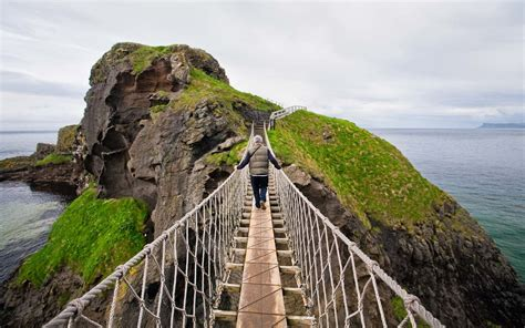 Bridge To Africa Finds For A Cause by The Carrick A Rede Rope Bridge Is So Popular You Need A