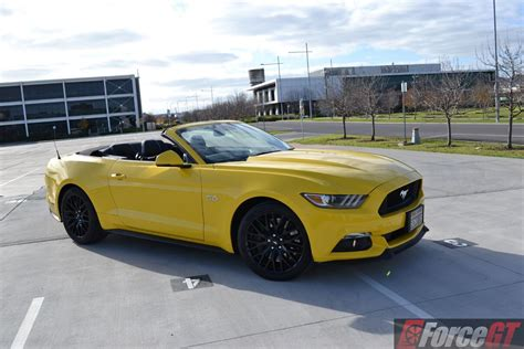 convertible mustang 2016 ford mustang gt convertible review