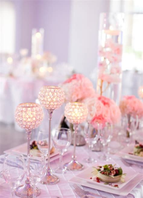 wedding table decoration ideas with candles candle decorations archives weddings romantique