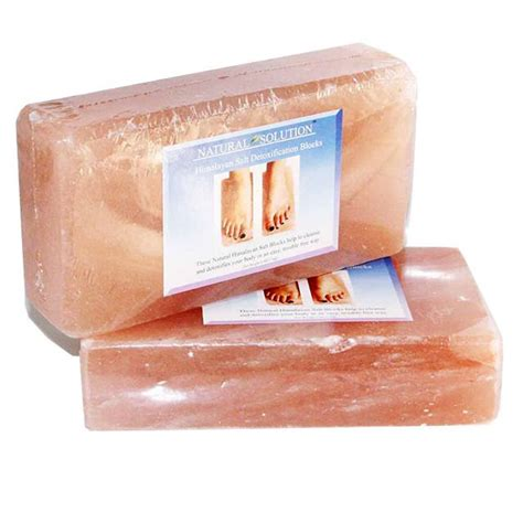 Himalayan Salt Foot Detox L by 1000 Images About Himalayan Salt Blocks Cooking
