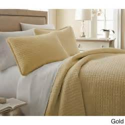 Gold Coverlet Queen Gorgeous Simply Modern Textured Squares Quilt Coverlet