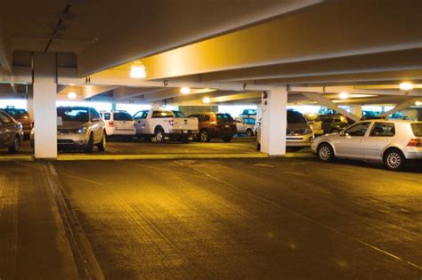 Ta Airport Term Parking Garage by Joyriding Ring Targeted Calgary Airport Parking Lots