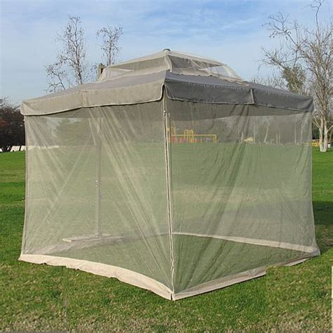 Patio Umbrella With Screen Enclosure Mosquito Net Ua Se01