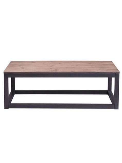 Rectangular Wood Coffee Table by Troop Square Wood Rectangular Coffee Table Modern