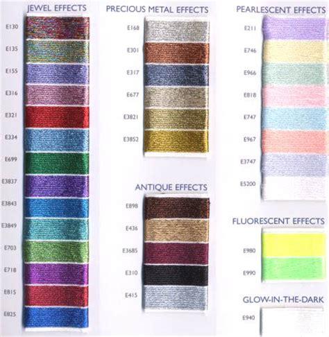dmc light effects list of colors color threads dmc threads dmc light effects list of colors color threads dmc