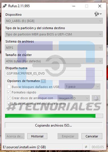 tutorial rufus windows 7 tutorial crear pendrive booteable de un iso con rufus