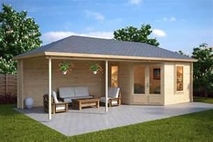 garden room with veranda 10m 178 44mm 3 5 x 8 m