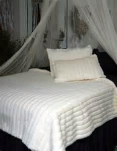 check price white mink faux fur comforter size