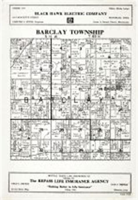 Black Hawk County Records Barclay Township Atlas Black Hawk County 1939 Iowa Historical Map