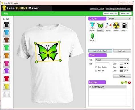 aplikasi desain kaos online gratis download software free tshirt maker aplikasi gratis