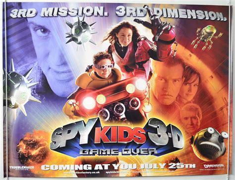 film spy full version spy kids 3 d game over teaser advance version