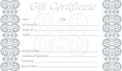 Gift Card Holder Template Illustrator by Template Template For Gift Voucher