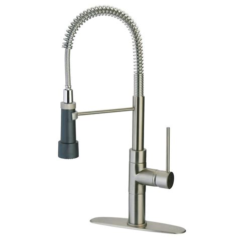 spring pull down kitchen faucet latoscana elba single handle pull down sprayer kitchen faucet with high arc spring spout and