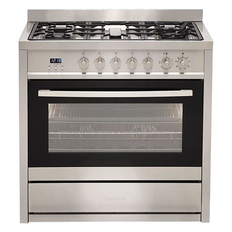 gas cooktop with electric oven electric oven gas cooktop ege9ts euromaid