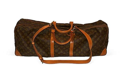 Who Wouldnt Want A Bag With A Dachshund Skeleton On It by Louis Vuitton Vintage Tennis Bag Who Wouldn T Want This