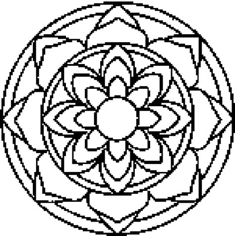 printable mandala coloring pages the medium skills