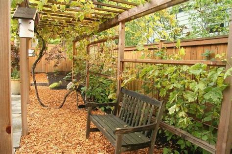 wood chip backyard wood chips backyard overhaul pinterest